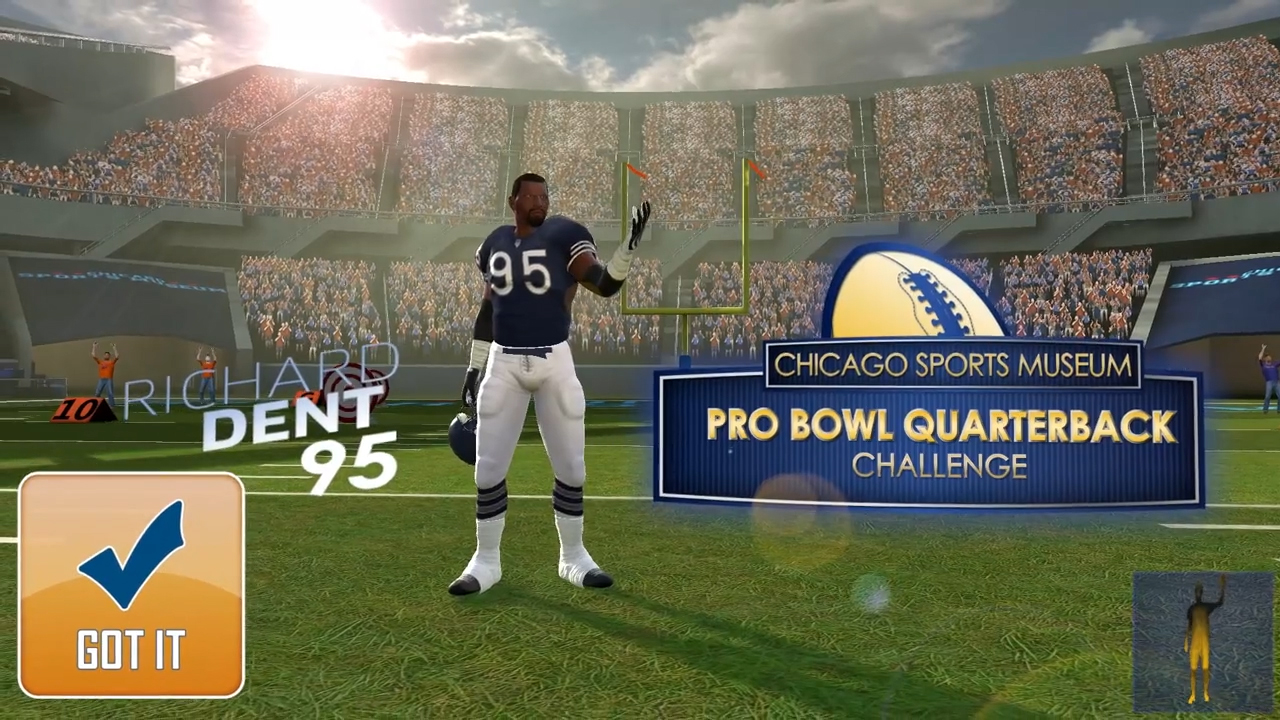 Chicago Sports Museum: Pro Bowl Quarterback Challenge